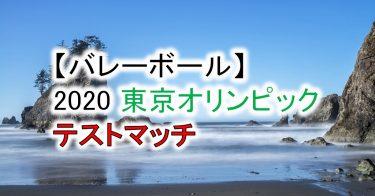 【オリンピック2020】バレーボール有明アリーナ テストマッチ!試合日程、チケット入手方法は?