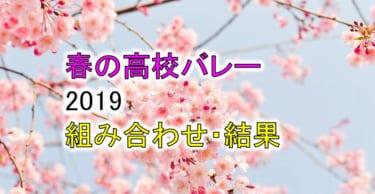 【2019 春高バレー】トーナメント組み合わせと結果一覧、優秀選手