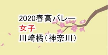 【2020 春高バレー】女子 川崎橘(神奈川)チームメンバー紹介!