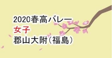 【2020 春高バレー】女子 郡山女大附(福島)チームメンバー紹介!