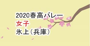 【2020 春高バレー】女子 氷上(兵庫)チームメンバー紹介!