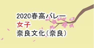【2020 春高バレー】女子 奈良文化(奈良)チームメンバー紹介!