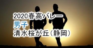 【2020 春高バレー】男子 清水桜が丘(静岡)チームメンバー紹介!