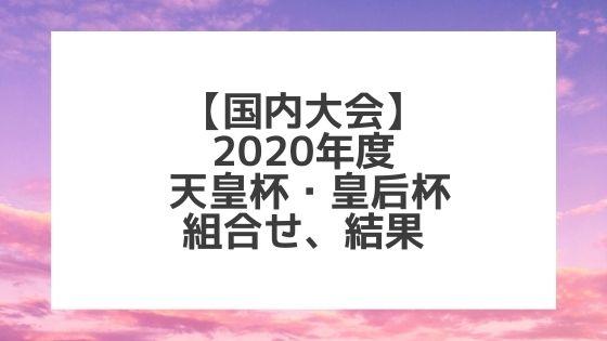 令和2年度天皇杯・皇后杯全日本バレー選手権|組合せ・結果・日程・参加チーム